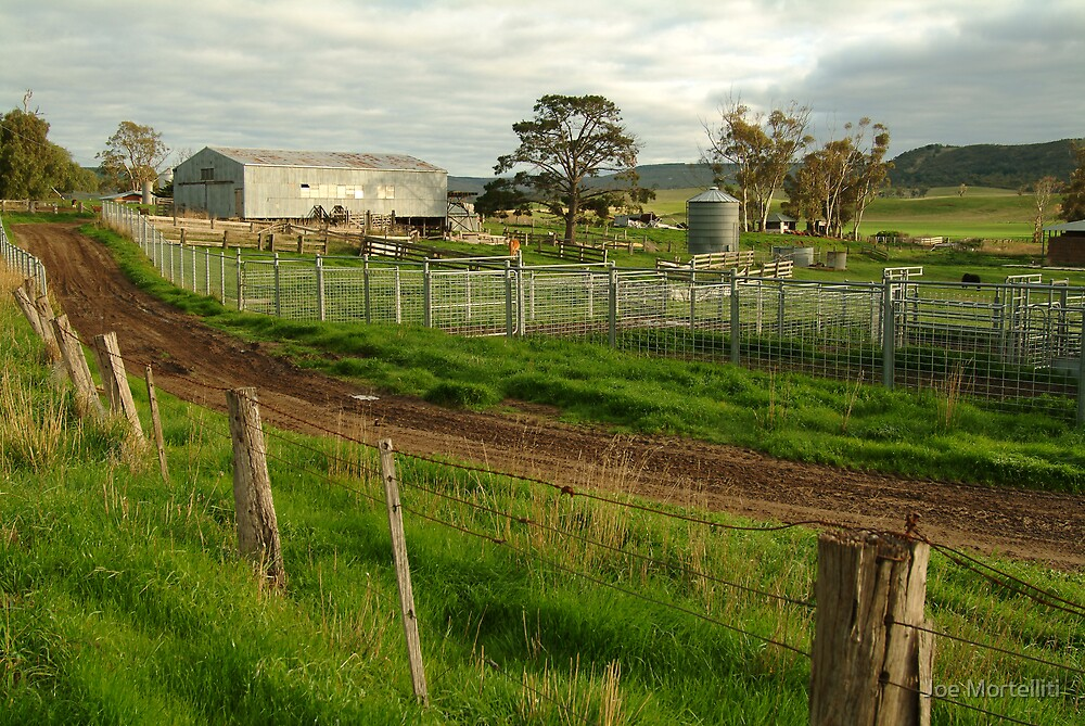 Dairy Farm,Rowsley by Joe Mortelliti