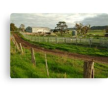Dairy Farm,Rowsley Canvas Print