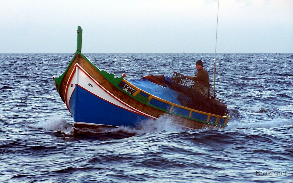Maltese Fisherman by David Gatt
