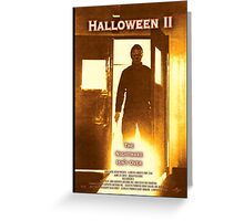 Halloween II Greeting Card