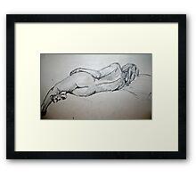 Nude 1 Framed Print
