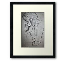 Drawing 1 Framed Print