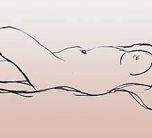 Reclining Nude by Lisa Pitman