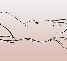 Reclining Nude by Lisa Pitman