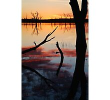 Lake Fyans Sunrise Photographic Print
