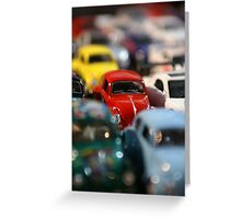 Traffic Jam Greeting Card