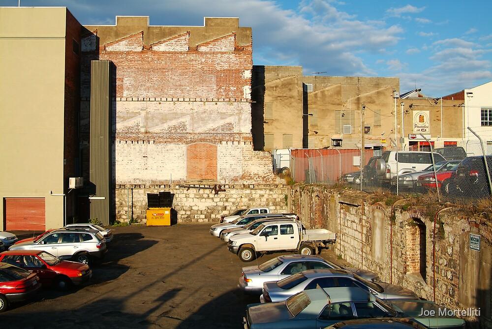 Behind the City Shops,Geelong by Joe Mortelliti