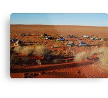 Simpson Desert Adventure,N.T. Metal Print