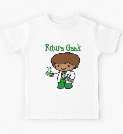 Cute Future Geek Gifts Kids Tee