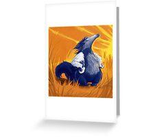 Superbear Greeting Card