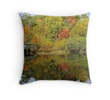 Fall Mirror Image        (1409111748VA) Throw Pillow