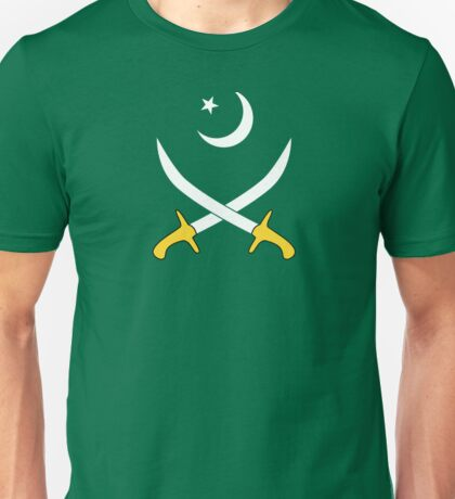 Crescent Star and Swords Unisex T-Shirt