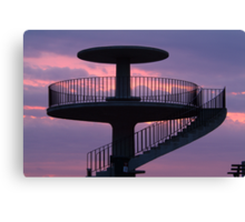 Lookout Tower Geelong Canvas Print