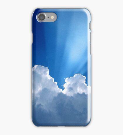 Beautiful Clouds and Blue Sky iPhone Case/Skin