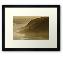 Walk the Dogs 13th Beach Framed Print