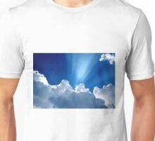 Beautiful Clouds and Blue Sky Unisex T-Shirt