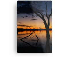 Sunrise, Lake Fyans Grampians Metal Print