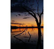 Sunrise, Lake Fyans Grampians Photographic Print