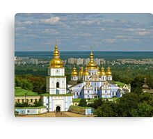 Golden Domes of  Kiev Canvas Print