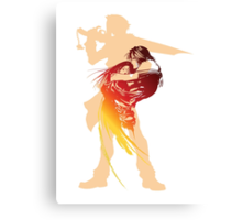 I'll be waiting (FFVIII) Canvas Print