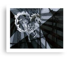 Presenting: Icarus, the Amazing Flying Horse!  Canvas Print
