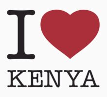 I ♥ KENYA by eyesblau