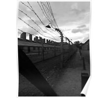 Auschwitz - Barbed Wire Poster