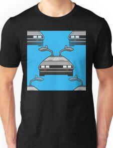 blue Delorean Unisex T-Shirt