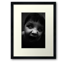 Crazy!!!! Framed Print
