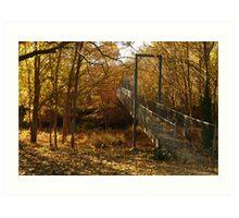 Autumn Walk Clunes Art Print