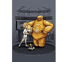 Big Hero 3PO Photographic Print