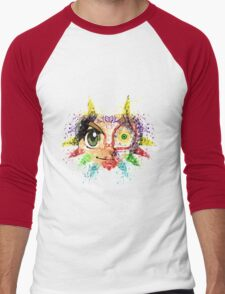 Face Majora's Mask Men's Baseball ¾ T-Shirt