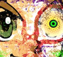 Face Majora's Mask Sticker