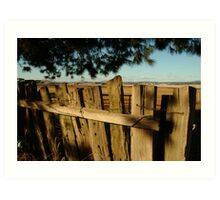 Ascot Farm Lands Art Print