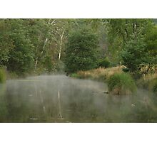 Morning Mist Crooked River High Country Photographic Print