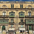 Building in Valletta Malta by David Gatt