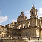 St. Catherine's Zejtun Malta by David Gatt