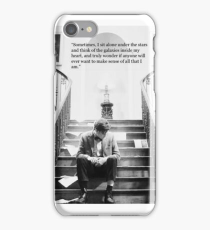 11th doctor quote 2 iPhone Case/Skin