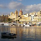 St. Lawrence Church Birgu Malta by David Gatt