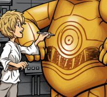 Big Hero 3PO - sticker Sticker