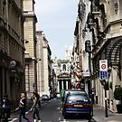 Glimpse of Sacred Heart - Paris France by Norman Repacholi