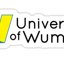 University of Wumbo Sticker