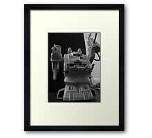 chainsaw warlord Framed Print