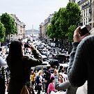 Prime position - Paris France by Norman Repacholi