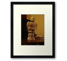 robot dance Framed Print