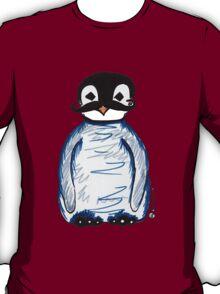 Penguin Mustache T-Shirt