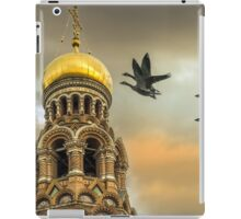 Take me to the Golden Domes  iPad Case/Skin