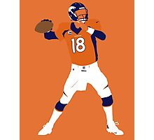 Peyton Williams Manning Photographic Print