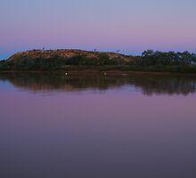 Dusk, Hunters Gorge, Diaminatina River Outback Queensland by Joe Mortelliti