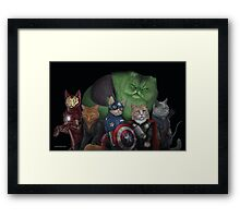The Catvengers Framed Print